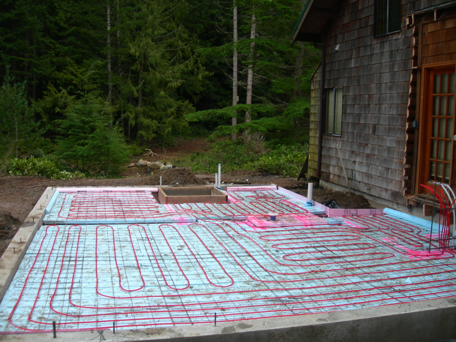 Installation Of In Floor Heating